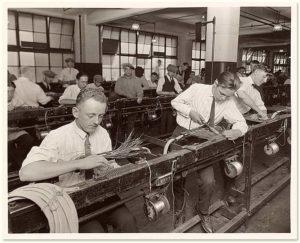 Trabajadores de la Western Electric Company