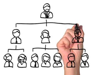 La estructura organizativa